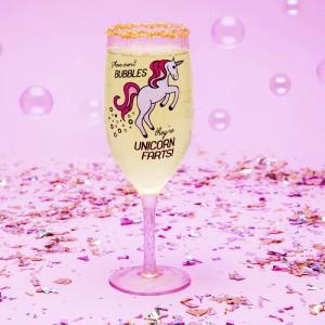 Flûte à Champagne XL Licorne