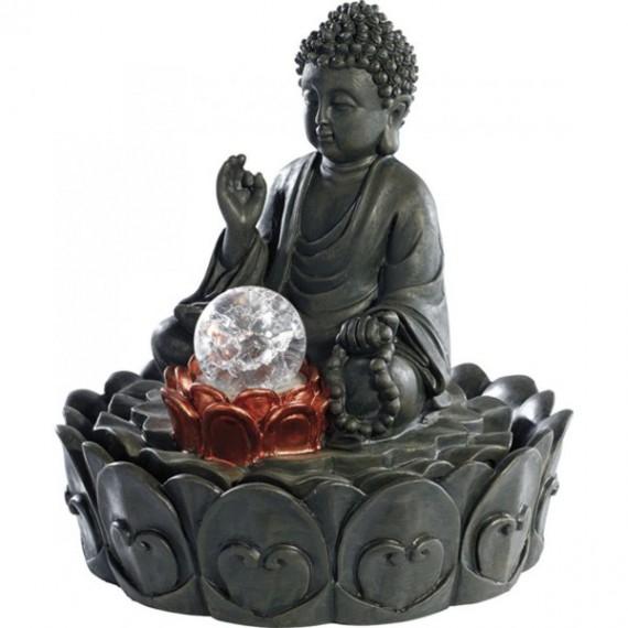 Fontaine d'intérieur Bouddha méditation Shirazen