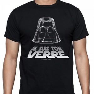 T-shirt humoristique Je suis ton verre