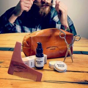 Trousse gentleman entretien de la barbe