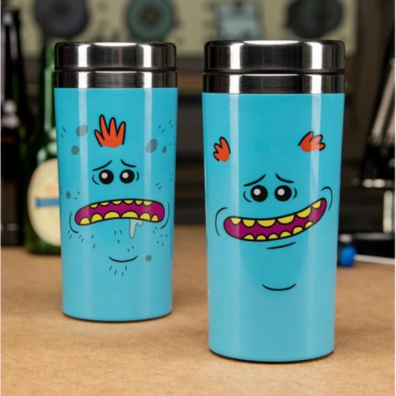 Le mug de voyage Rick & Morty - Mr Meeseeks