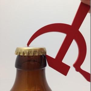 Porte-clés Décapsuleur Marx - URSS