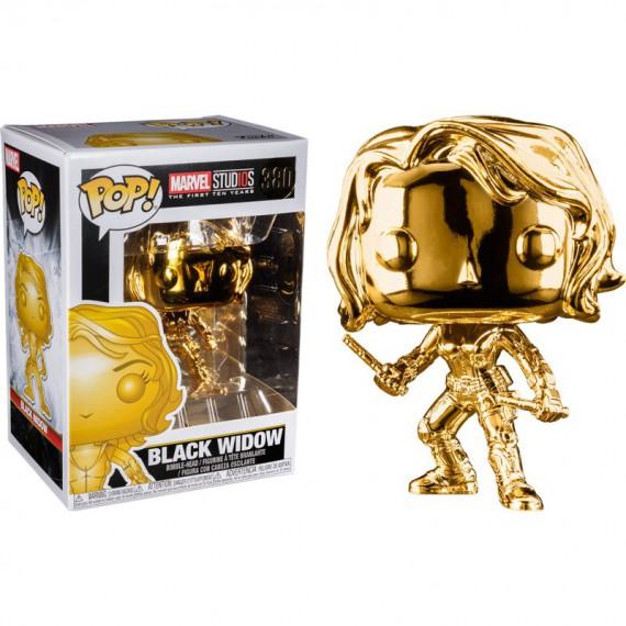 Figurines Pop Marvel - Version chromées & shiny