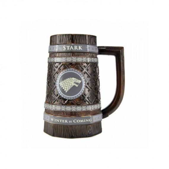 Verre Chope à Bière Stark Game of Thrones