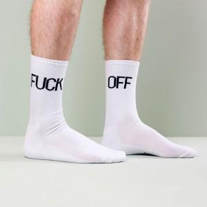 Chaussettes Fuck Off - Foutez-moi la paix