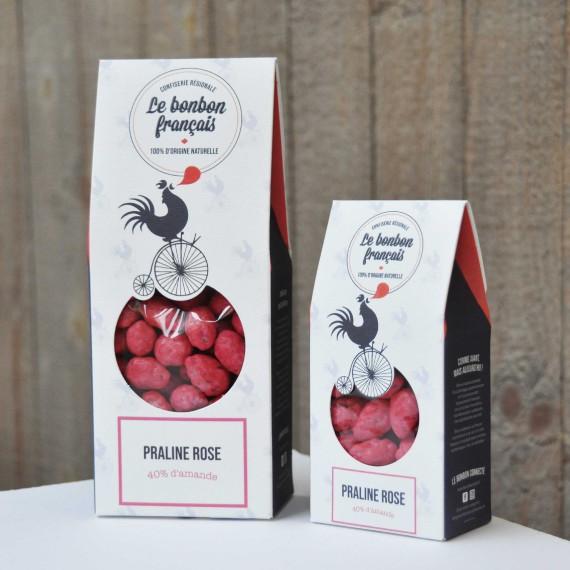 Praline Rose 40% d'amande
