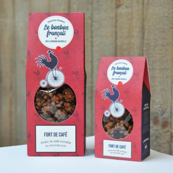 Fort de Café - Grain de café torréfié au chocolat noi