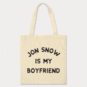 Sac Shopping Game of Thrones - Jon Snow is my boyfriend
