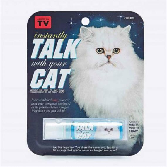Spray Magique pour Parler avec les Chats