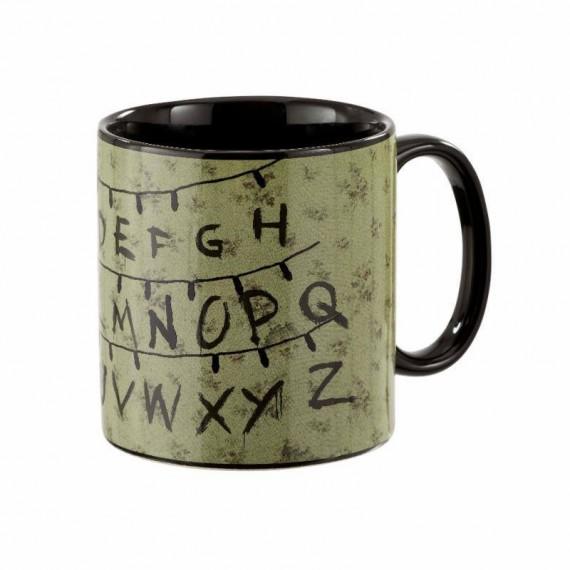 Mug Thermoréactif Stranger Things - Alphabet