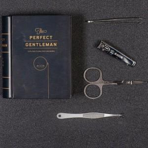 Boîte kit d'entretien barbe pour homme