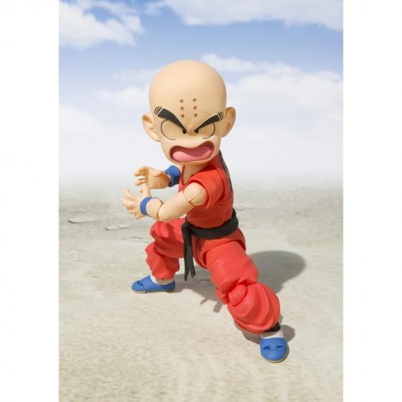 Figurine Dragon Ball - Krillin Early Years (Klilyn) S.H.Figuarts 11cm