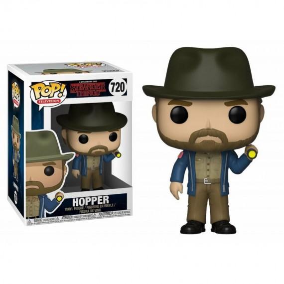 Figurine POP Stranger Things - Hopper avec torche