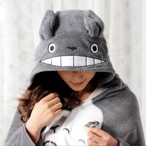 Poncho cape Totoro