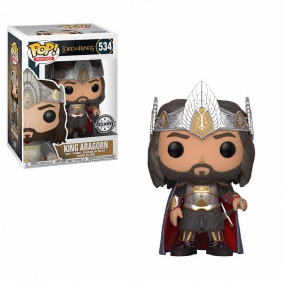 Figurine Pop! Le Seigneur des Anneaux - Aragorn