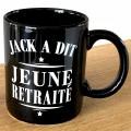 Mug Jack a dit Jeune Retraité