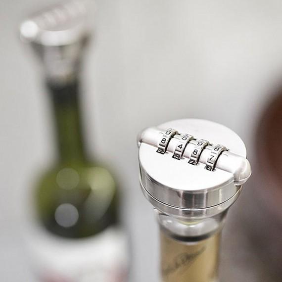 Le cadenas pour bouteille