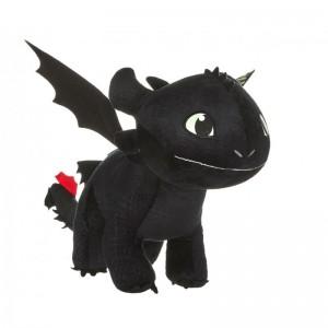 Peluche Dragons - Krokmou Furie Nocturne 30cm