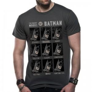 Tshirt DC Comics - Batman et ses humeurs