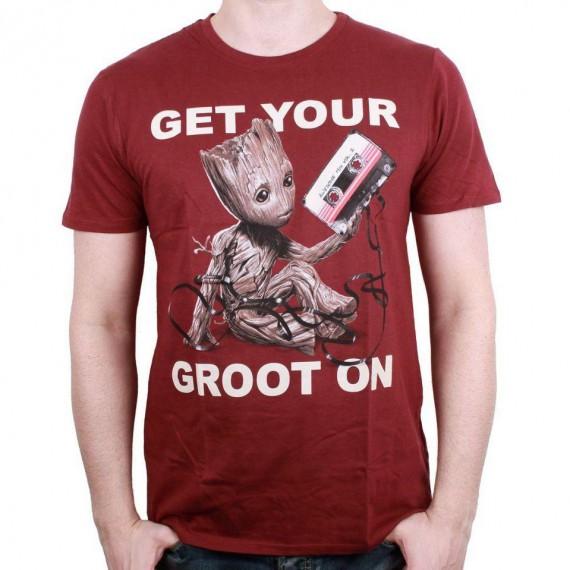 """T-Shirt Groot """"Get Your Groot On"""" - Gardiens de la Galaxie"""