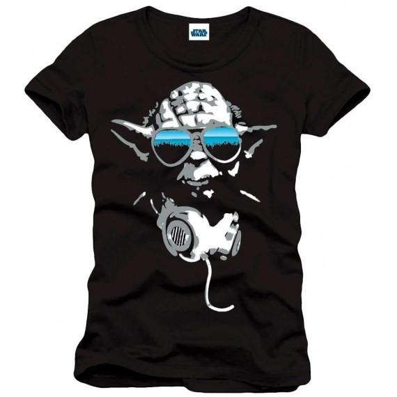 """T-Shirt Unisexe - Star Wars """"Yoda DJ"""""""