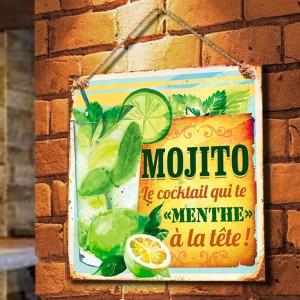 """Plaque murale """"Mojito"""""""