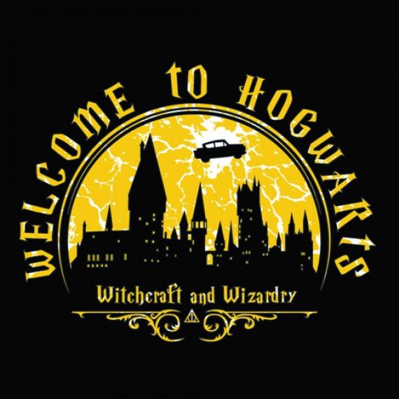 Tshirt Harry Potter - Bienvenue à Poudlard