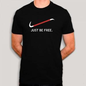 T-Shirt Half Life - Just Be Free