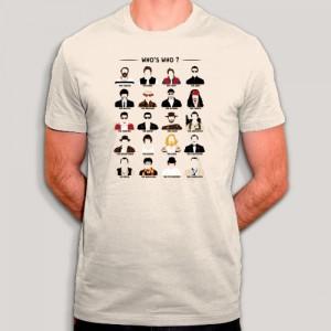 T-shirt Blind test cinéma