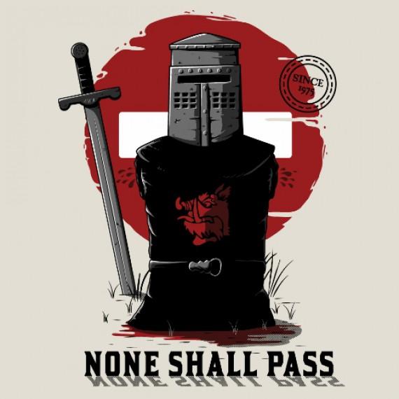 T-shirt - Chevalier Monty Python
