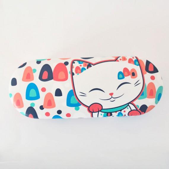 Etui à lunettes Mani Lucky Cat