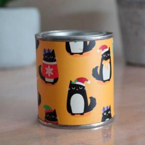 Bougie chat parfumée