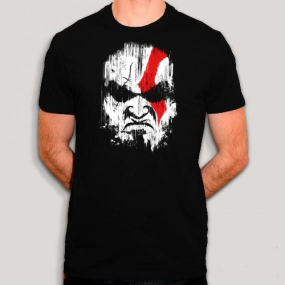 T-shirt - Peinture de guerre Kratos