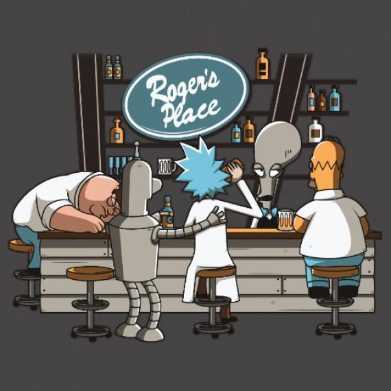 T-shirt - American Bar