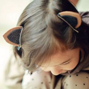 Barettes pour cheveux - Oreilles de chaton