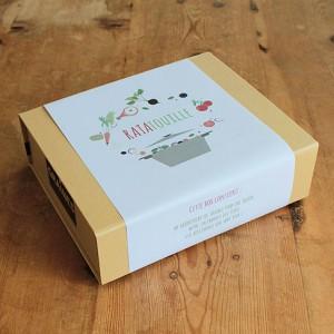 Coffret de jardinage - Box Ratatouille