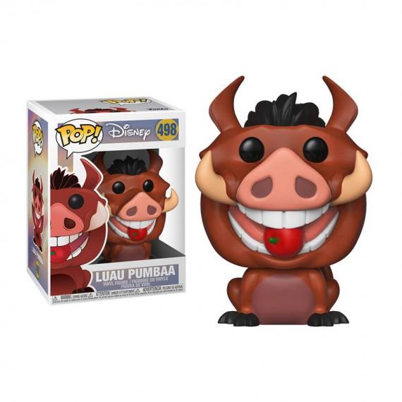 Figurine Disney - Le Roi Lion - Luau Pumbaa Pop 10cm