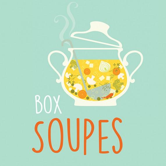 Coffret de jardinage - Box Soupes