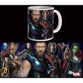 Mug Marvel Avengers : infinity War - Guardians and Thor Mug