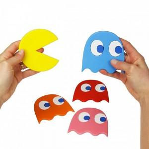 Sous-verres Pac-man