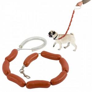 Laisse saucisse pour chien