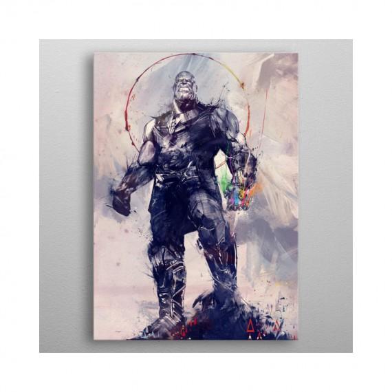 Poster en Métal Marvel Infinity War - Infinity Gauntlet