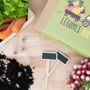 Coffret de jardinage - Box légumes BIO pour petit jardin