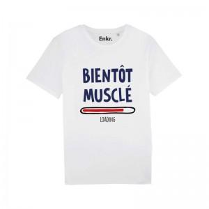 T-shirt homme - Bientôt musclé