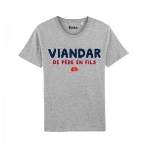 T-shirt famille - Viandar de père en fils