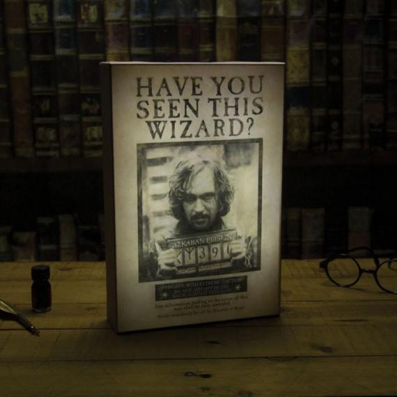 Lampe Luminart Harry Potter Sirius Black