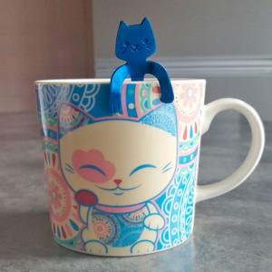 Petite cuillère à café chat