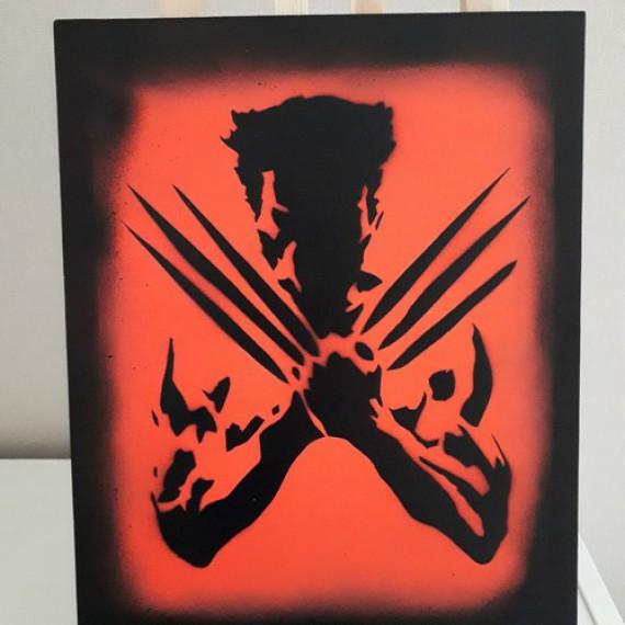 Toile X-Men - Wolverine