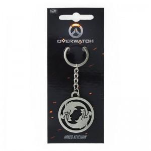 Porte-clefs Overwatch en métal