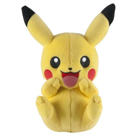 Peluche happy Pikachu